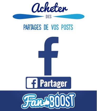 Acheter des partages pour publication Facebook