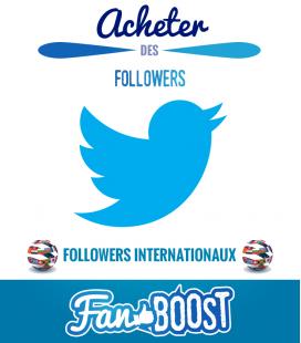 Acheter des followers Twitter internationaux