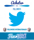 Acheter des followers Twitter internationaux