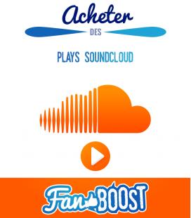 Acheter des lectures (plays) pour votre musique SoundCloud