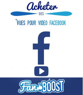 Acheter des vues pour vidéo Facebook