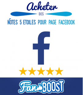 Acheter des notes 5 étoiles pour votre page Facebook