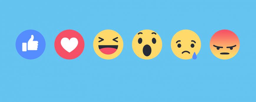 Une meilleure gestion des engagements avec les réactions Facebook